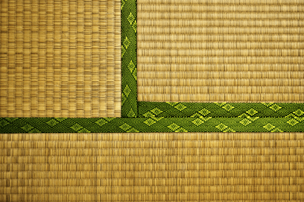 Tatami mats, which you'll find at ryokans, traditional houses, and temples