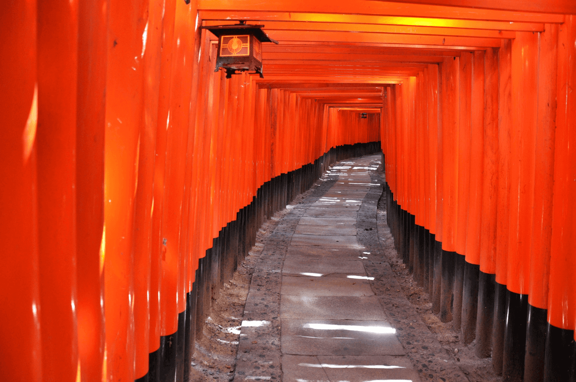 Fushimi Inari Shrine, Kyoto. Two Weeks in Japan, A Perfect Itinerary by Boutique Japan