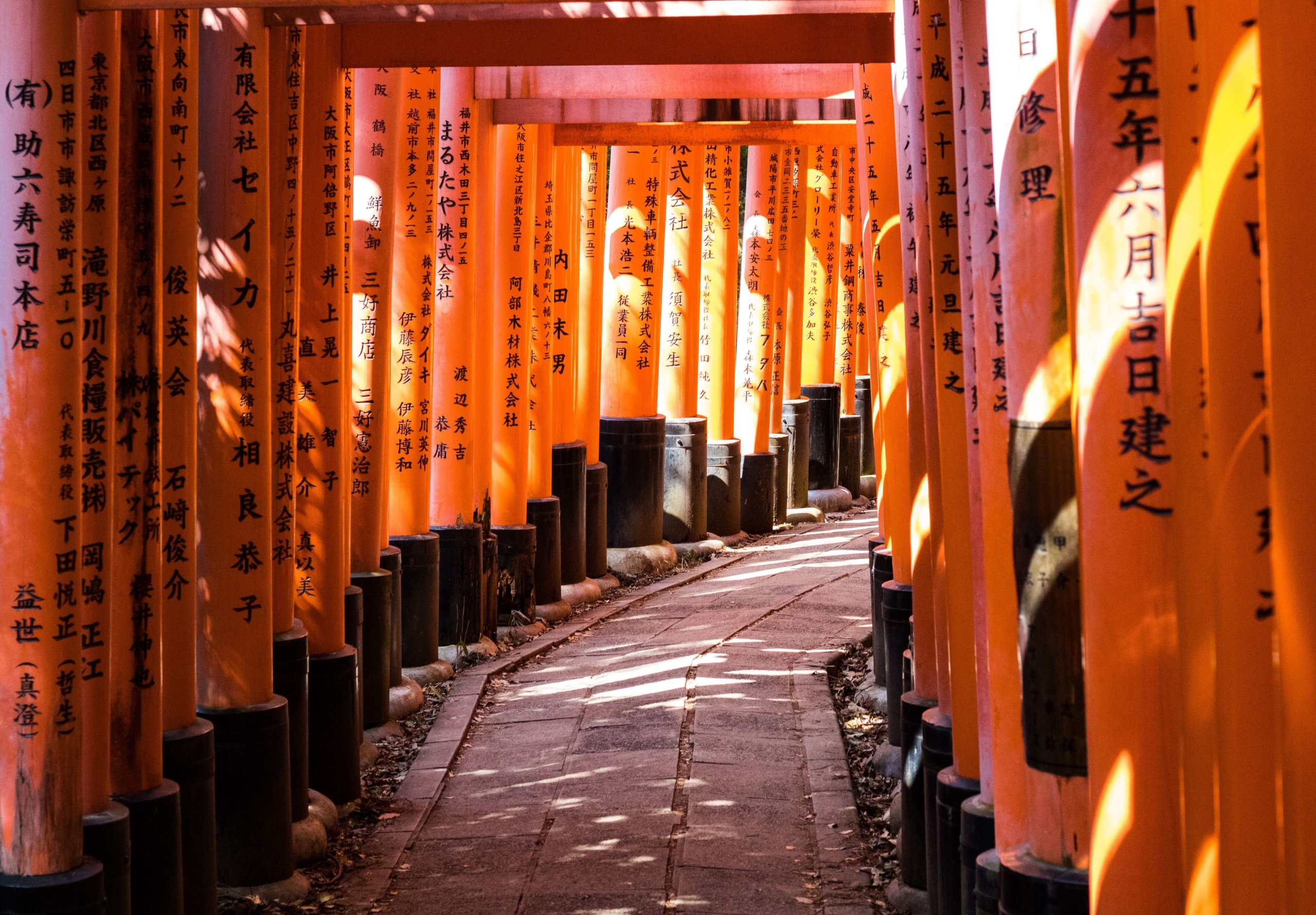 torii Fushimi Inari Taisha Shrine Kyoto Japan