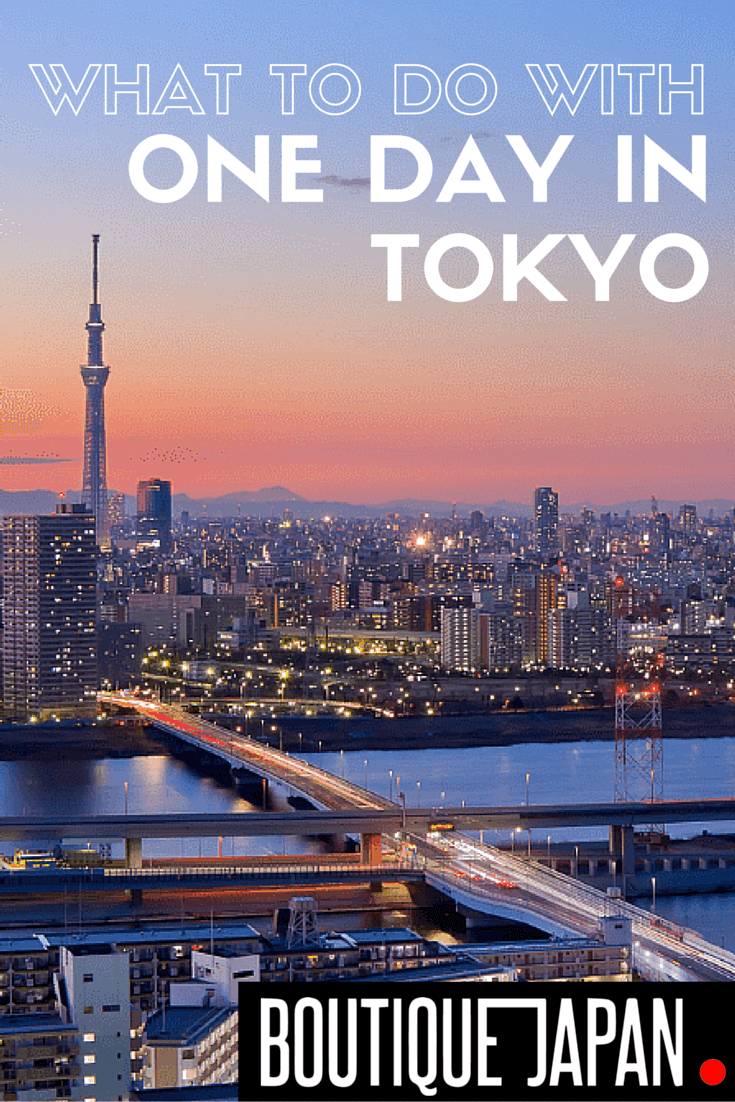 What should you do with one day in Tokyo, one of the world's largest cities? Even if you have just one day in the city, see the real Tokyo most tourists miss.