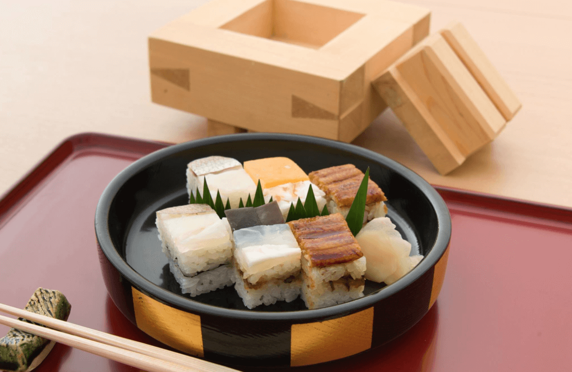Yoshino Sushi's Hakozushi. You Have To Eat These Dishes in Osaka, by Boutique Japan.
