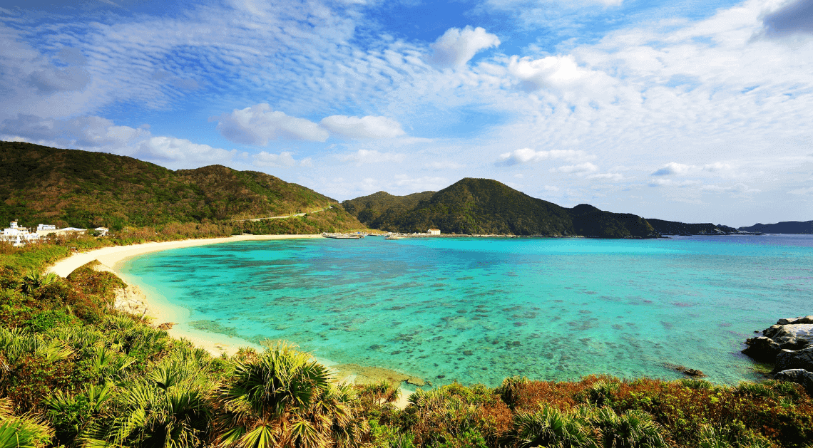Aharen Beach Tokashiki Island Kerama Islands Okinawa Japan